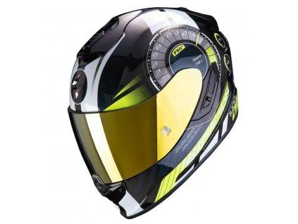 Prilba Scorpion EXO 1400 AIR TORQUE Neon Yellow