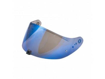 Plexi scorpion exo 1400 zrcadlové modré