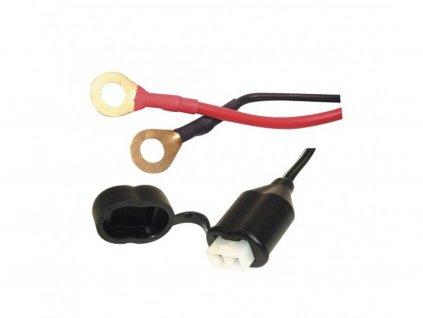 prodlouzeny kabel s ockovymi klipy a pojistkou oxford anglie delka kabelu 0 5 m