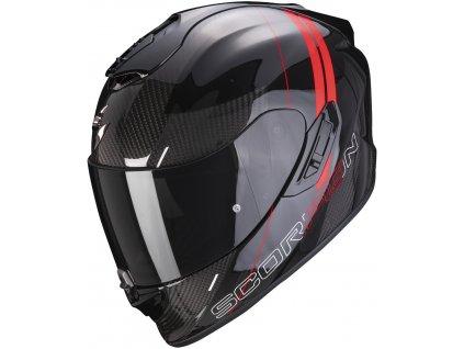 Scorpion EXO 1400 CARBON AIR DRIK Black Red 2