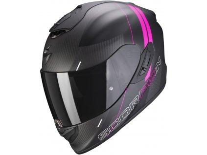 Scorpion EXO 1400 CARBON AIR DRIK Mat Black Pink