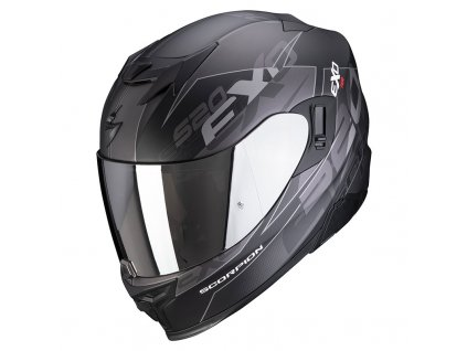 Scorpion EXO 520 AIR COVER Mat Black Silver