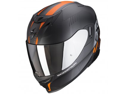 Scorpion EXO 520 AIR LATEN Mat Black Orange