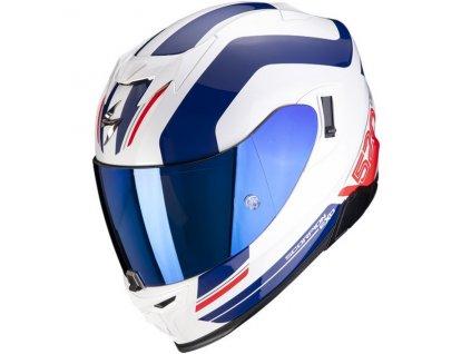 Scorpion EXO 520 AIR LEMANS White Blue Red