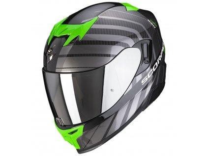 Scorpion EXO 520 AIR SHADE Black Green