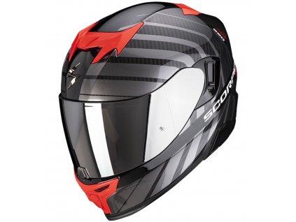 Scorpion EXO 520 AIR SHADE Black Pearl Red