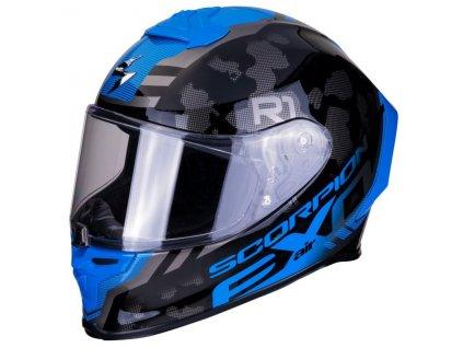 Scorpion EXO R1 AIR OGI Silver Blue