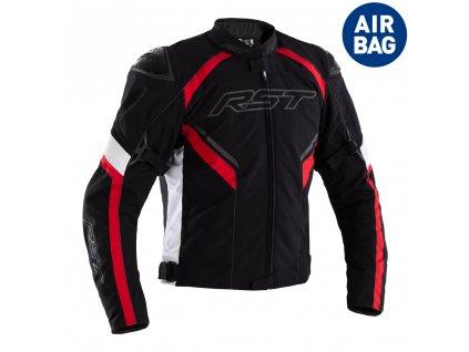 textilni airbagova bunda rst sabre 2555 airbag red