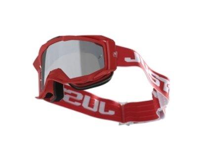 Brýle JUST1 IRIS TRACK červená bílé