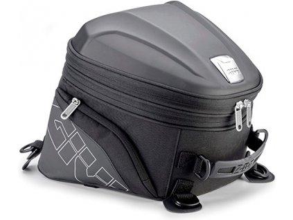 ST 607 cestovní zavazadlo GIVI na sedlo spolujezdce, černé, rozšiřitelné, objem 22 l., (SPORT T)