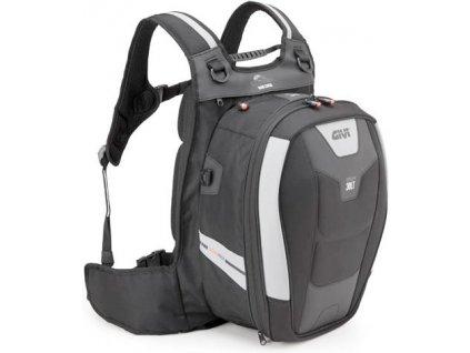 XS 317 batoh GIVI na oblečení a notebook, černý, 30 l. (řada XSTREAM)