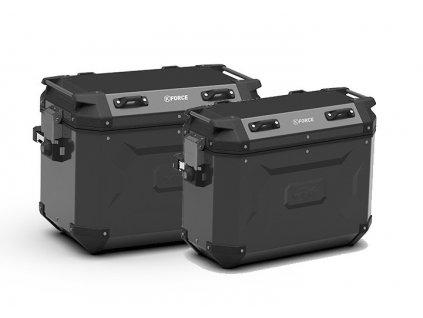 K´Force KFR4837BPACK2 sada bočních hliníkových moto kufrů CAM SIDE KAPPA