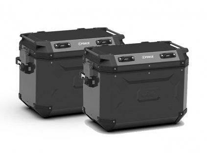 K´Force KFR48BPACK2 sada bočních hliníkových moto kufrů CAM SIDE KAPPA