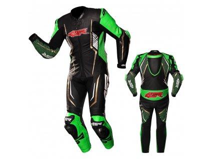 kombinéza 4SR Racing Monster Green 1