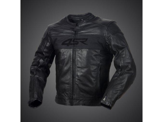 Kožená bunda 4SR Hooligan Black Velvet