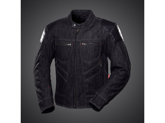 Textilní bunda 4SR Rowdie Denim black