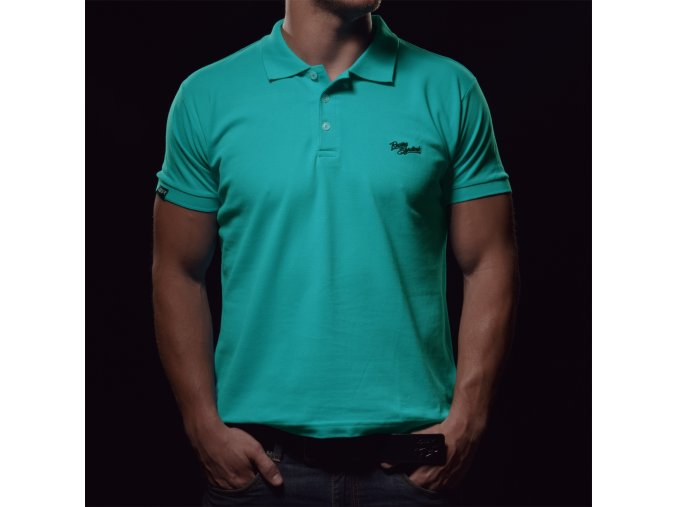 Tričko 4SR Polo Aqua