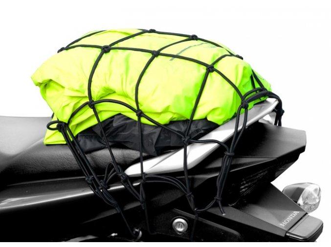 Síťka na motorku gumová