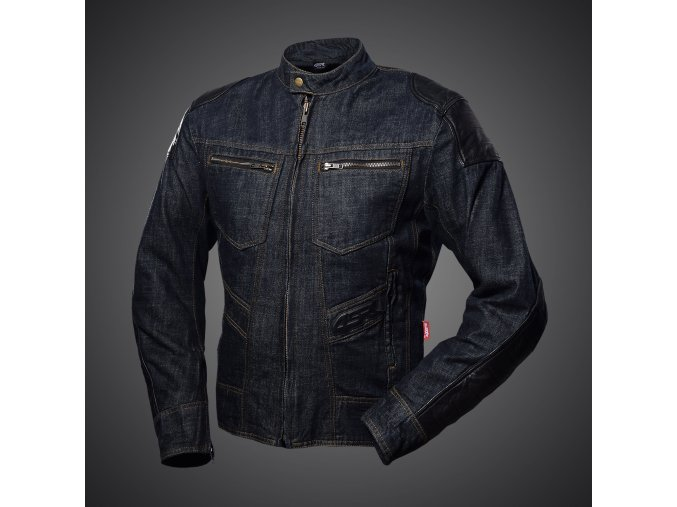 Textilní bunda 4SR Rowdie Denim Jacket blue