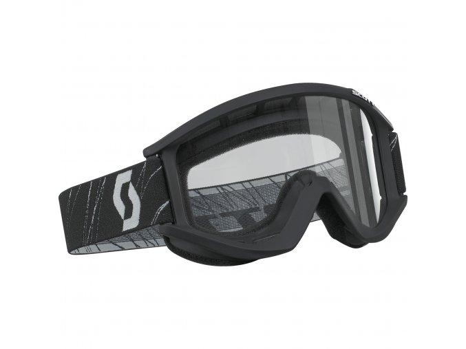 Moto brýle SCOTT RECOILXI black mat 220836-1043