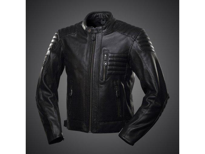 Kožená bunda 4SR Cool HD black