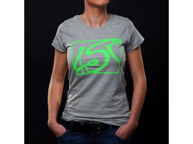 Dámské tričko 4SR Hot Green