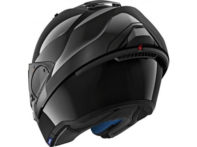 helma evo one2 blank blk 34lfront he9700360