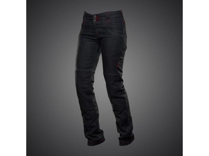 kalhoty 4sr cool lady black 1