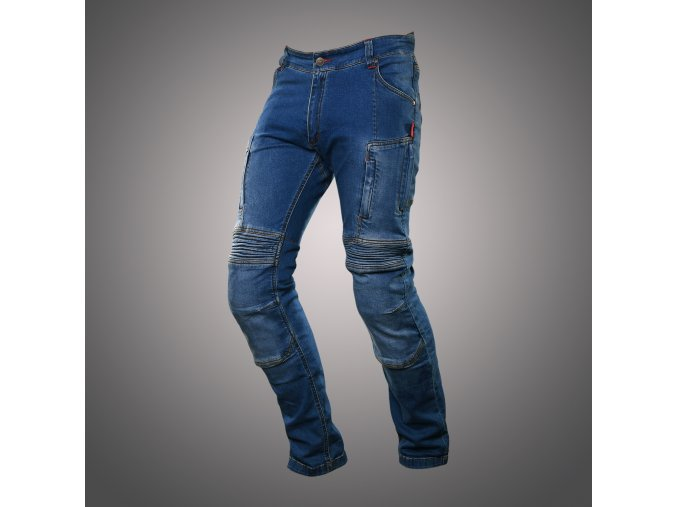 kalhoty 4sr club sport kevlar jeans 1