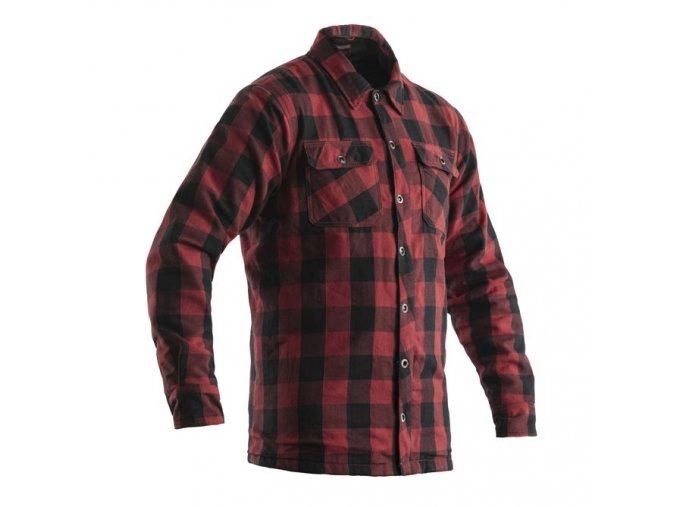 košile na motorku 2115 lumberjack shirt red 01
