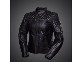 Kožená dámská bunda 4SR Scrambler Lady Petroleum black