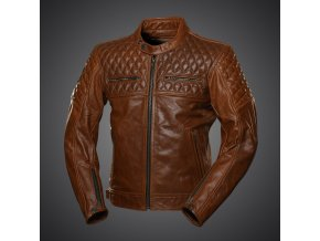 Kožená bunda 4SR Scrambler Cognac brown