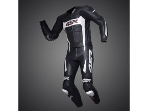 Kombinéza 4SR Speed Black - White