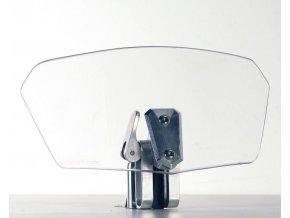 Deflektor S 180T přídavné plexi GIVI