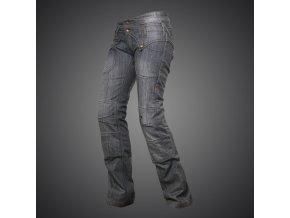Kevlarové kalhoty 4SR dámské Jeans Lady Star Grey