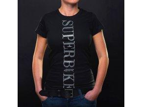 Dámské tričko 4SR Superbike Lady black