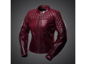 bunda scrambler lady wine jacket 1