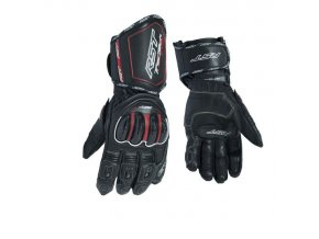 rukavice 2579 black red