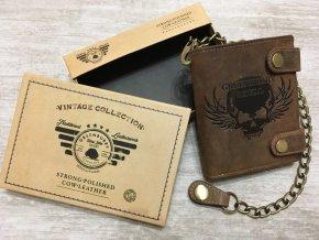 peněženka skull vysoka