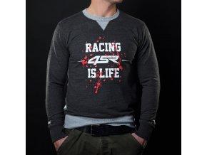 mikina 4sr sweatshirt life grey 1