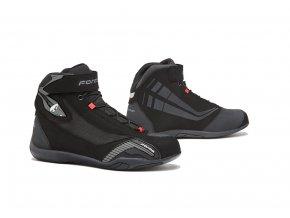 motocyklové boty forma genesis black