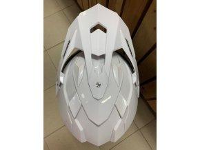 motocyklová přilba N312 Enduro White