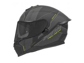 motocyklová přilba N302S VECTOR Mat Yellow