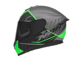 motocyklová přilba N302 S FASTLINE Grenn