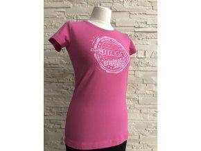 damské triko motojomax pink
