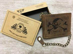 peněženka skull lebka (2)
