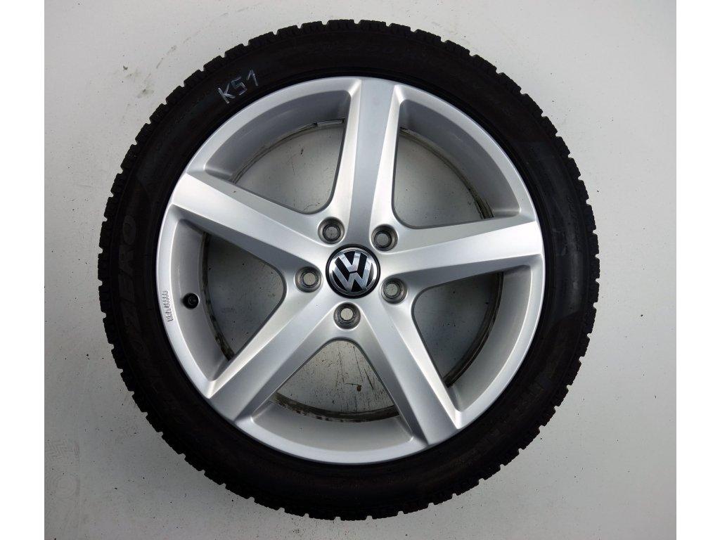 """Volkswagen Passat EOS CC 17"""" Originální zimní sada"""