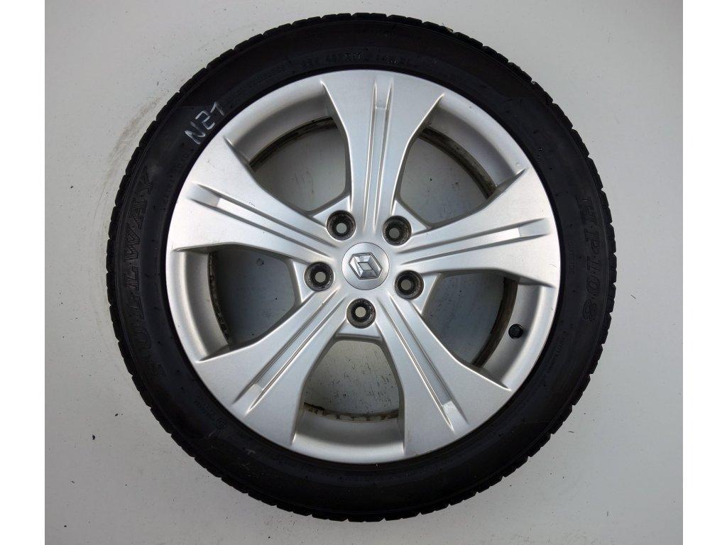 """Renault Megane 17"""" Originální letní sada"""