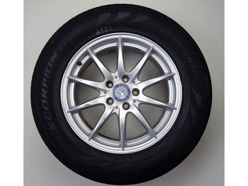 """Mercedes ML W166 17"""" Originální letní sada"""