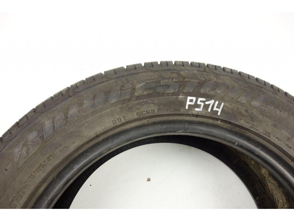 Letní Bridgestone 235/55R17 - 4ks - vzorek cca 5,9 mm